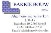 BAKKIE BOUW
